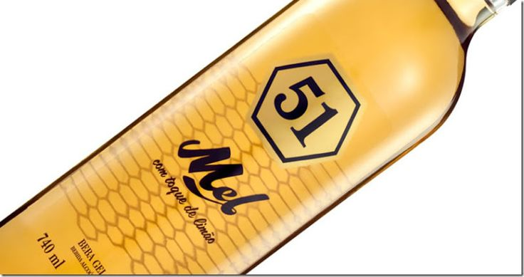 Cachaça 51 Mel com toque de limão. -  WestinMorg / Blog de Moda Masculina e Variedades