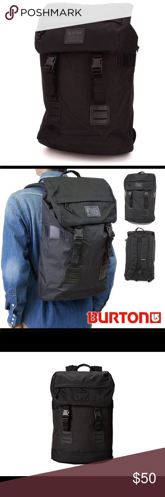 Burton Tinder Backpack 25L Burton backpack // purchased from urban outfitters // Burton Tinder Pack // EUC with no flaws // Accessible padded laptop compartment //  Easy drawstring closure // Cush Ergonomic Shoulder Harness // Adjustable Sternum Strap // External and Internal Accessible Padded Laptop Compartment [16.5in x 10in x 1.5in] [42cm x 26cm x 4cm] // Rucksack Style Main Entry with Drawstring Closure // Top Accessory Pocket // Zippered Internal Mesh Pocket Burton Bags Backpacks