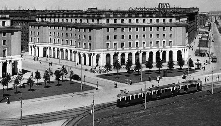 Plac Centralny, lata 50