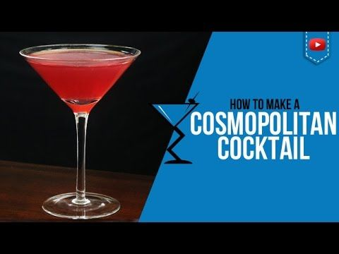 how to make a cosmopolitan mixed drink
