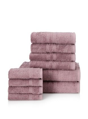 66% OFF Chortex 10-Piece Imperial Bath Towel Set, Iris