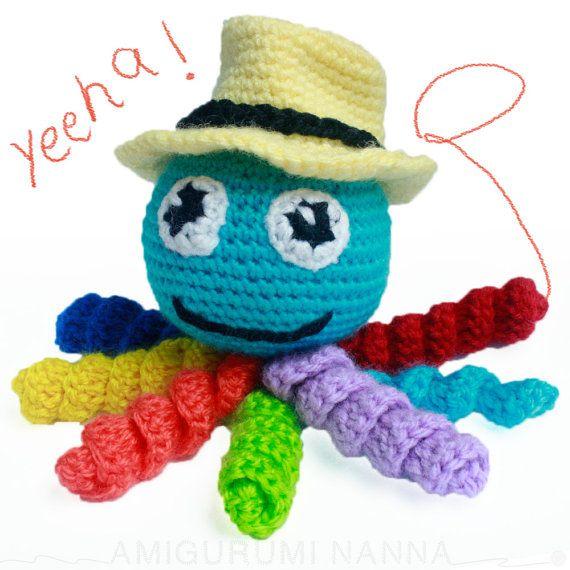 Octopus Plush  Amigurumi Octopus  Handmade Toys  by AmigurumiNanna