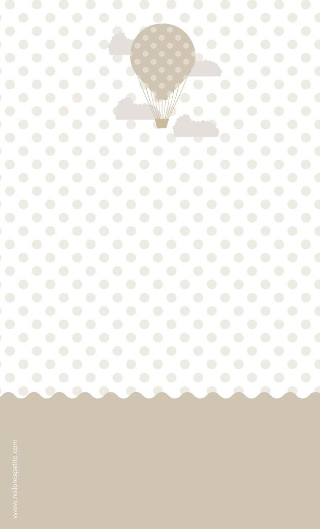 Freebie: diseño de invitación gratis para bautizo, fiestas, babyshower... por No llores Patito