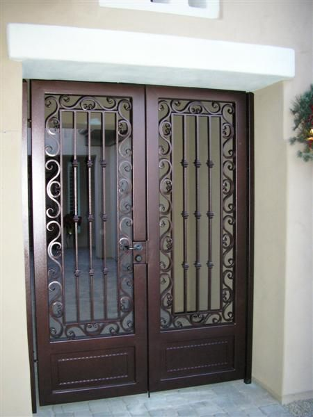 17 best images about security gate on pinterest patio for Door gate design