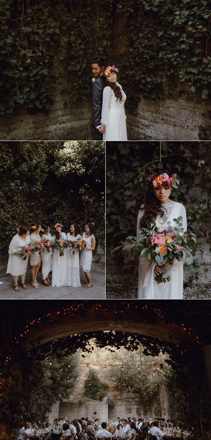 Gorgeous Boho Jewel Toned Wedding with a BHLDN wedding dress // Sand Rock Farm in Aptos, CA // Photos by Catalina Jean Photography   Check out more from the full wedding here: http://catalinajean.com/journal/2016/sand-rock-farm-wedding-aptos-california