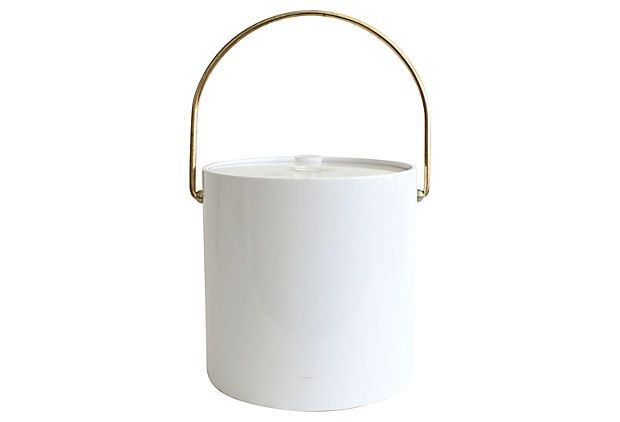 Midcentury  Ice  Bucket