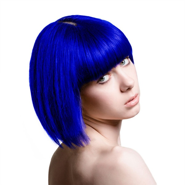 Stargazer UV Blue hair dye, bright blue hair dye, Stargazer Cosmetics... ($7.84) ❤ this is the color that I've been looking for!!!!