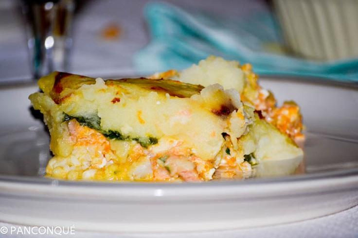 Pastel de pescado (Jamie Oliver)