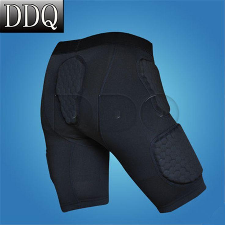 Kualitas tinggi Pro seluler celana pendek basket celana pendek olahraga armor bumper pelindung pendek tights shorts Gratis Pengiriman