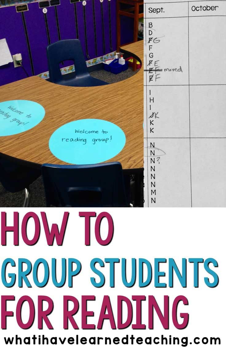 Grouping students for reading instruction can be challenging. Here are some tips on how to effectively group students using assessment data.