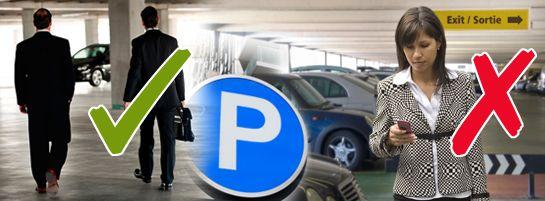 Article - La sécurité dans les parcs de stationnement -- Conseils de sécurité pour les déplacements dans un stationnement