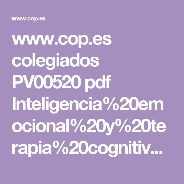 www.cop.es colegiados PV00520 pdf Inteligencia%20emocional%20y%20terapia%20cognitivo-conductual.pdf