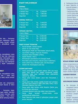 #InfoRSCAI Paket persalinan di Rumah Sakit Columbia Asia Semarang. Info lebih lanjut hubungi +6224 762 9999 / Email: customercare.semarang@columbiaasia.com