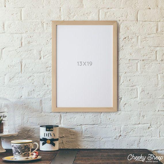 13x19 POSTER Frame CheekySheepWoodShop