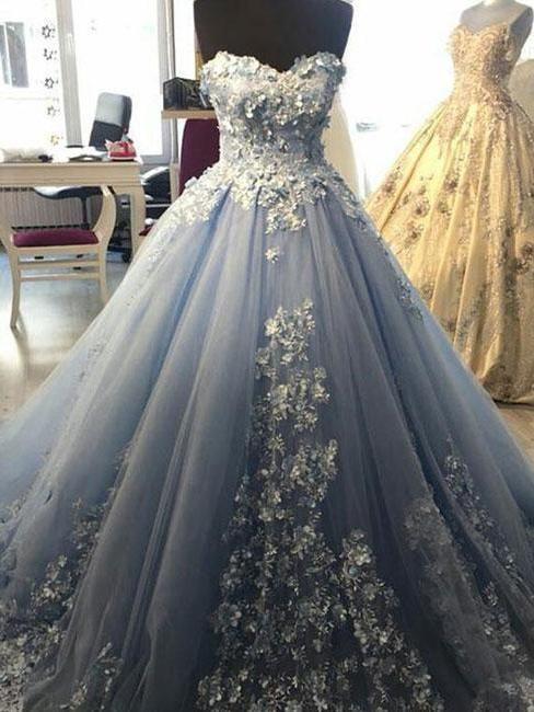 1b186caa1081 Ball Gown Prom Dresses Sweetheart Lavender Long Prom Dress Beautiful  Evening Dress JKL1139