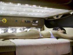 Rituale BIOSOLARIUM Corpo  favorisce una sana e dorata abbronzatura  di corpo, viso e gambe.