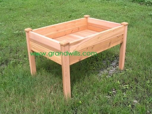 how to make a garden box for vegetables