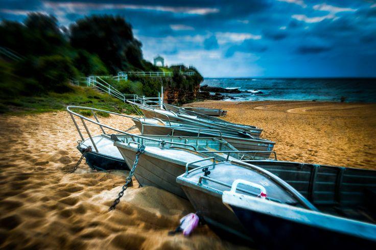 Boats on the beach by Paul Carmona on 500px