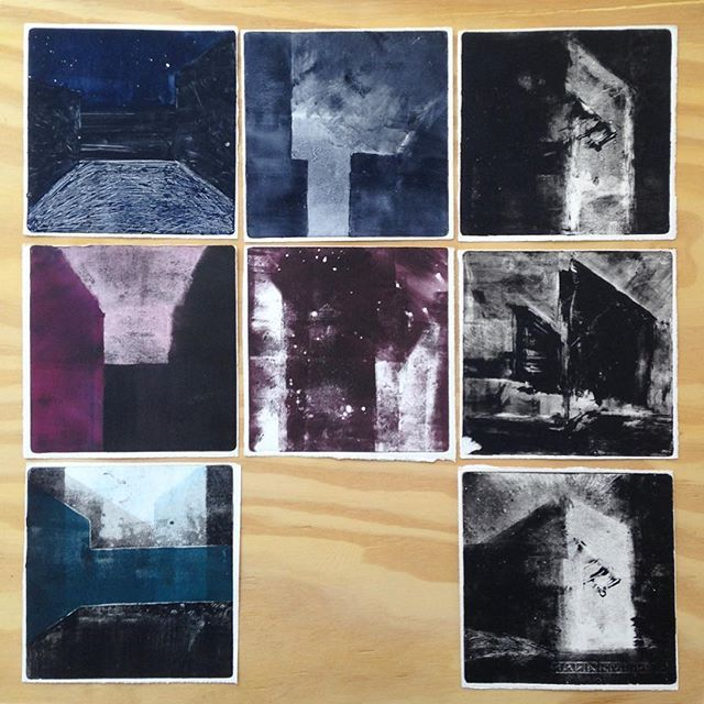 Julia Mota #monotype #monotipia #worksonpaper #hahnemühle #graphic #arts