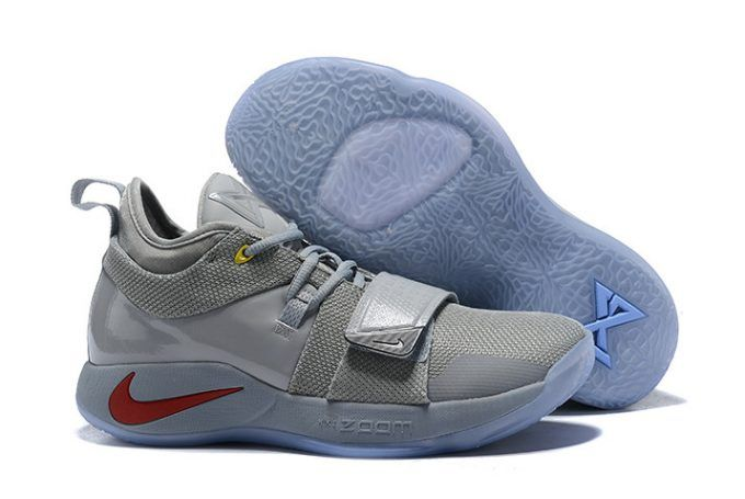 454407086a1 Nike PG 2.5 Wolf Grey Multi-Color PE Basketball Shoes in 2019