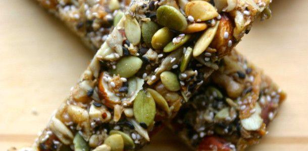 Блендер, рецепты для блендера, рецепты здорового питания.   —  Питательные батончики