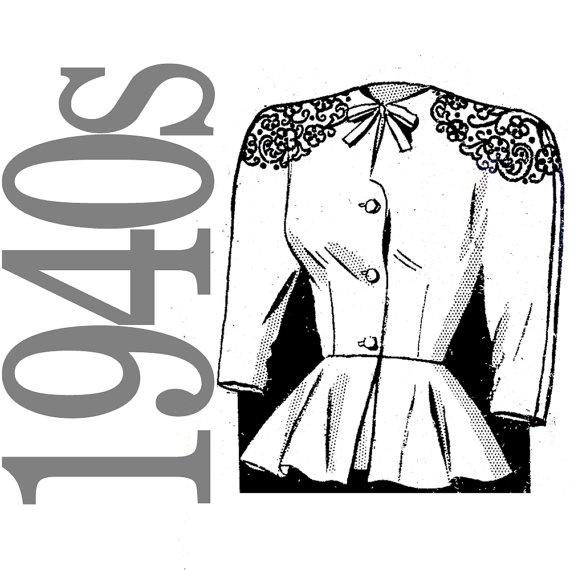 Perfect peplum: Peplum Jacket, 60 S Fashion, Fashion Art, Vintage Patterns, Order Patterns, Vintage Retro Patterns, Fashion Illustrations, Sewing Patterns