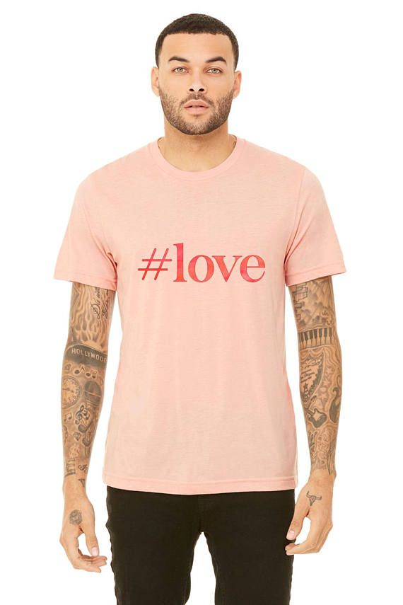 This Hand Painted Watercolor Love Valentine S Day Unisex Tshirt