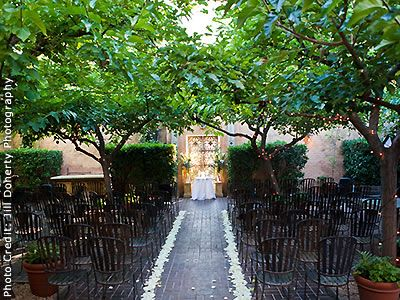 Tra Vigne Wine Country rehearsal dinner location and Wine Country wedding location 94574