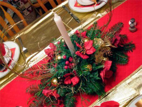 Como hacer Centros de Mesa de Navidad | Como hacer
