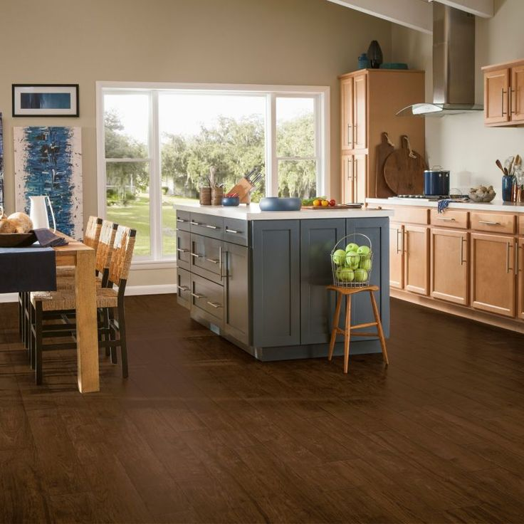 Room Scene for Hickory Point Traditional Luxury Flooring - Copper Penny U3032