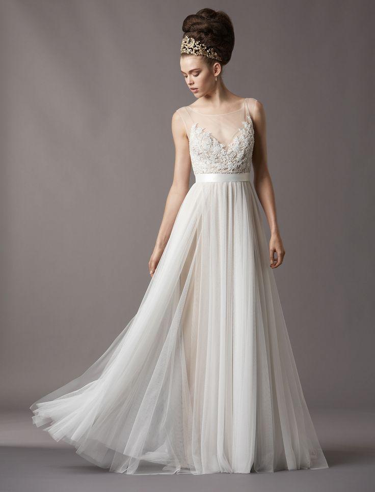 KleinfeldBridal.com: Watters: Bridal Gown: 32990319: A-Line: Natural Waist
