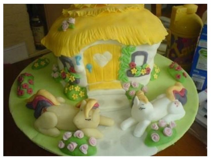 My Little Pony cake.