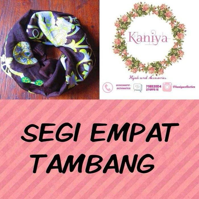 Pasmina / kerudung / jilbab / instan / hoodie / syria / segi empat / square / shawl / scraf  Cek our instagram : kaniyacollection