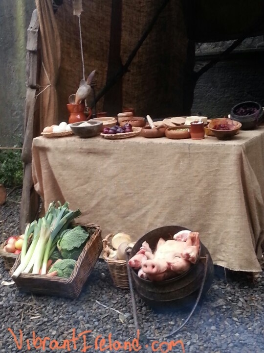 Viking Christmas feast at  Winterval Waterford