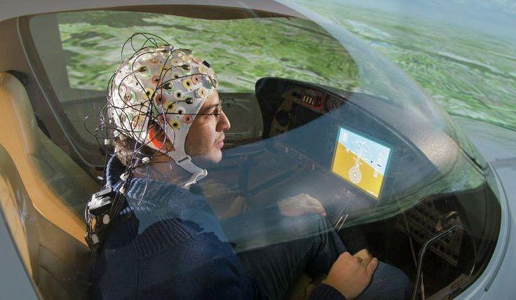 Cientistas alemães concebem dispositivo para controlar aeronaves por pensamento (vídeo)   Disso Voce Sabia?