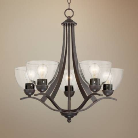 Hinkley Lighting Monroe Chandelier Polished Nickel