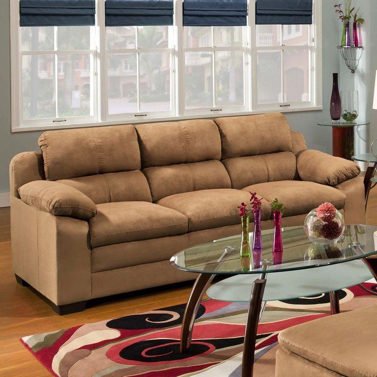 Inspirational Simmons Microfiber sofa Simmons Microfiber sofa Inspirational Simmons Velocity Latte Microfiber sofa sofas Loveseats Velocity