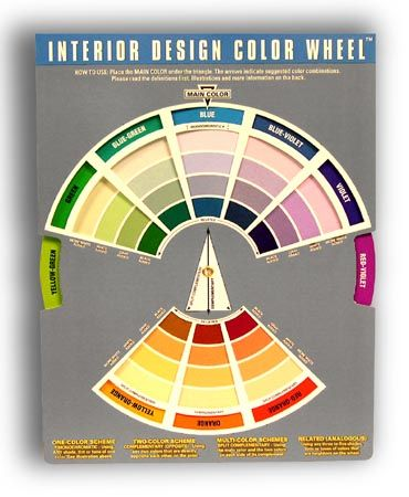 Colors that go together colors that go well together by - Color wheel interior design ...