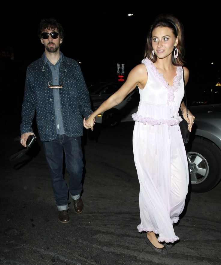Aly Michalka and Stephen Ringer.