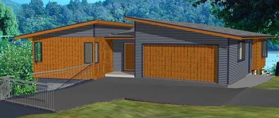 small beach house designs nz - Google Search