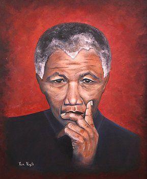 """Nelson Mandela"" - Oils Painted by Xan  Virgili. Original Sold. Orders and enquiries at xan.virgili88@gmail.com"