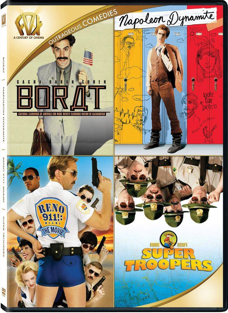 Borat/Napoleon Dynamite/Reno 911/Super Troopers