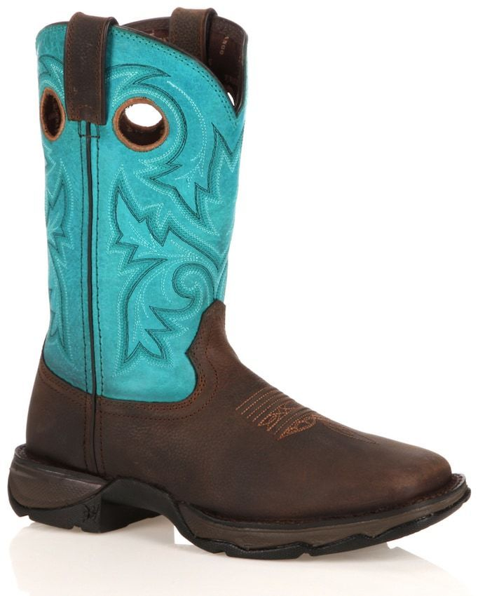 Durango Lady Rebel Women's Steel-Toe Cowboy Boots. Cowboy boot fashions. I'm an affiliate marketer. When you click on a link or buy from the retailer, I earn a commission.