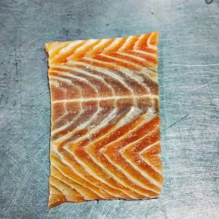 Salmon skin texture pattern