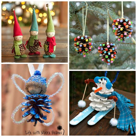 Pine Cone Crafts for Kids to Make - Crafty Morning