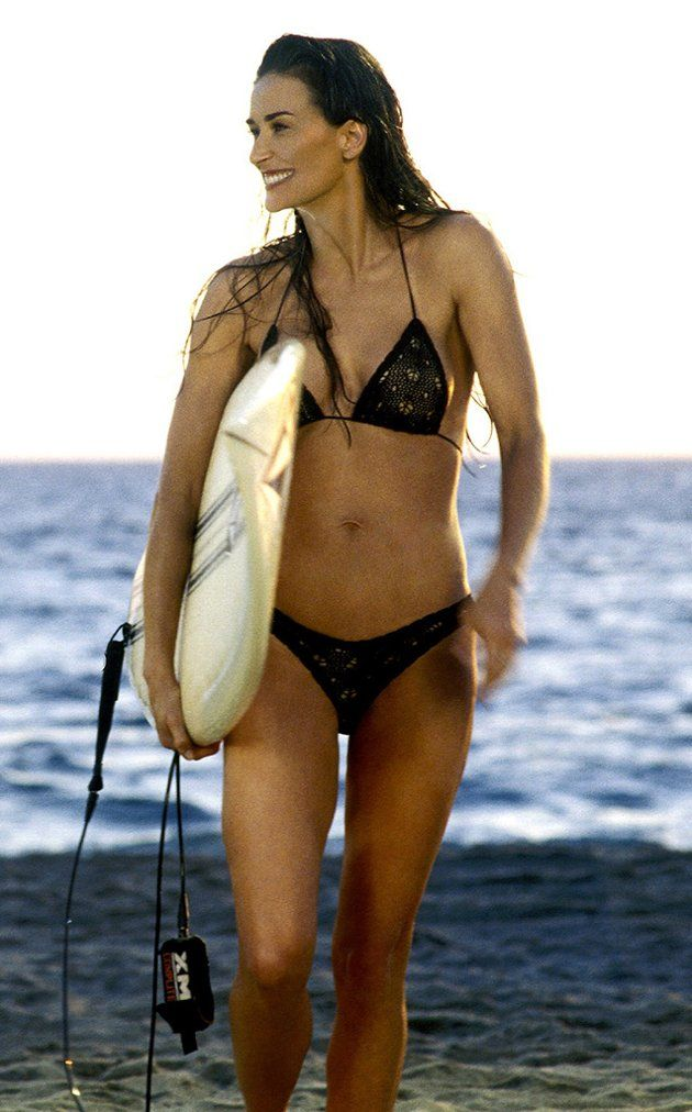 Demi moore bikini photos