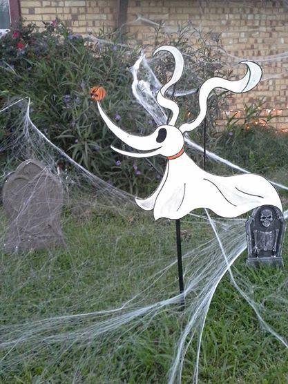 NIGHTMARE BEFORE CHRISTMAS Lawn Decorations by Face2FaceCustoms