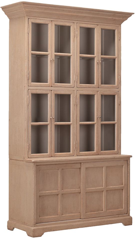 New Pine island Large Library Cabinet