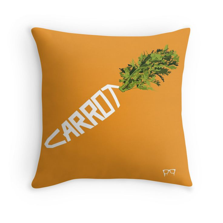 Available as Home Decors and Tote Bags pillow by @bembureda on @redbubble #carrot, #orange, #eat your vegetables, #verdura, #carota, #kitty, #veggie, #vegan, #health, #calligraphy, #font, #type, #fashion, #lettering, #icon, #green, #wear, #summer, #standbyme, #seal, #cats, #classic, #80, #eighties, #pulp, #grocery #store,#corner #shop #green #love #eye #horses #bunny #style #stylish #buyme