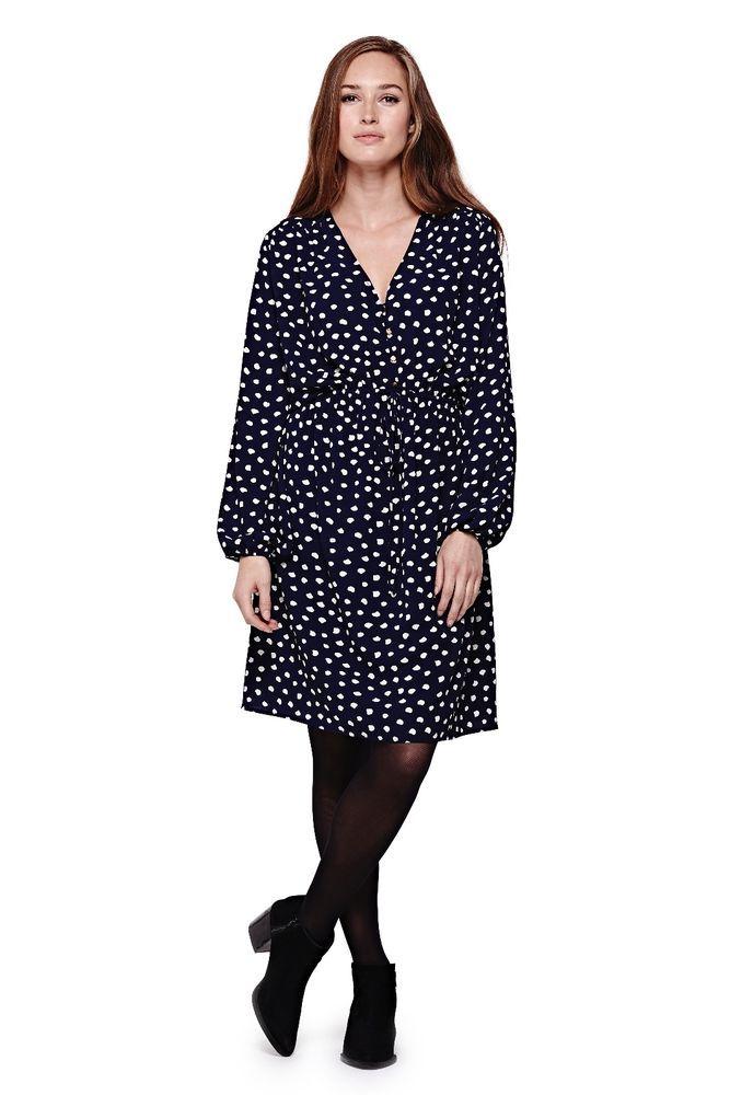 yumi kleid neu blogger boho abendkleid polka dots apart blau